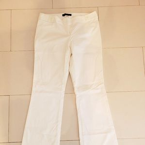 Limited Drew Fit White Dress Pants